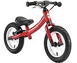 BIKESTAR 2-en-1 Bicicleta sin Pedales para niños y niñas 3-4 años   Bici con Ruedas de 12' Edición Sport   Rojo