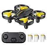 DEVASO Mini Drone para niños / principiantes vuelo circular, giro 3D, ajuste de velocidad y retención de altitud, gran regalo / juguetes para niños y niñas