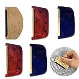 Tangger Cepillo para Textiles, Peine de Lana para Ropa Cepillo de Cachemir Ropa Suéteres Anti-Pilling,5 PCS