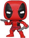 Funko - Pop! Bobble Marvel: 80th - First Appearance: Deadpool Figura Coleccionable, Multicolor (44154)