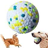 Pelota de Juguete para Perros,Pelota Perro Indestructible,Pelota de Caucho Natural para Perros,Bola Interactiva Perros para Perros Pequeños Medianos y Perros Grandes (Verde)