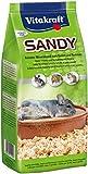 Vitakraft - Sandy, Arena Higiénica para el Baño Diario de Las Chinchillas - 1 kg