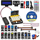 OSOYOO Stem Starter Graphical Programming Kit for BBC Micro:bit with Plug and Play Expansion Board for Beginner and Kids (Stem Kit with Micro Board)