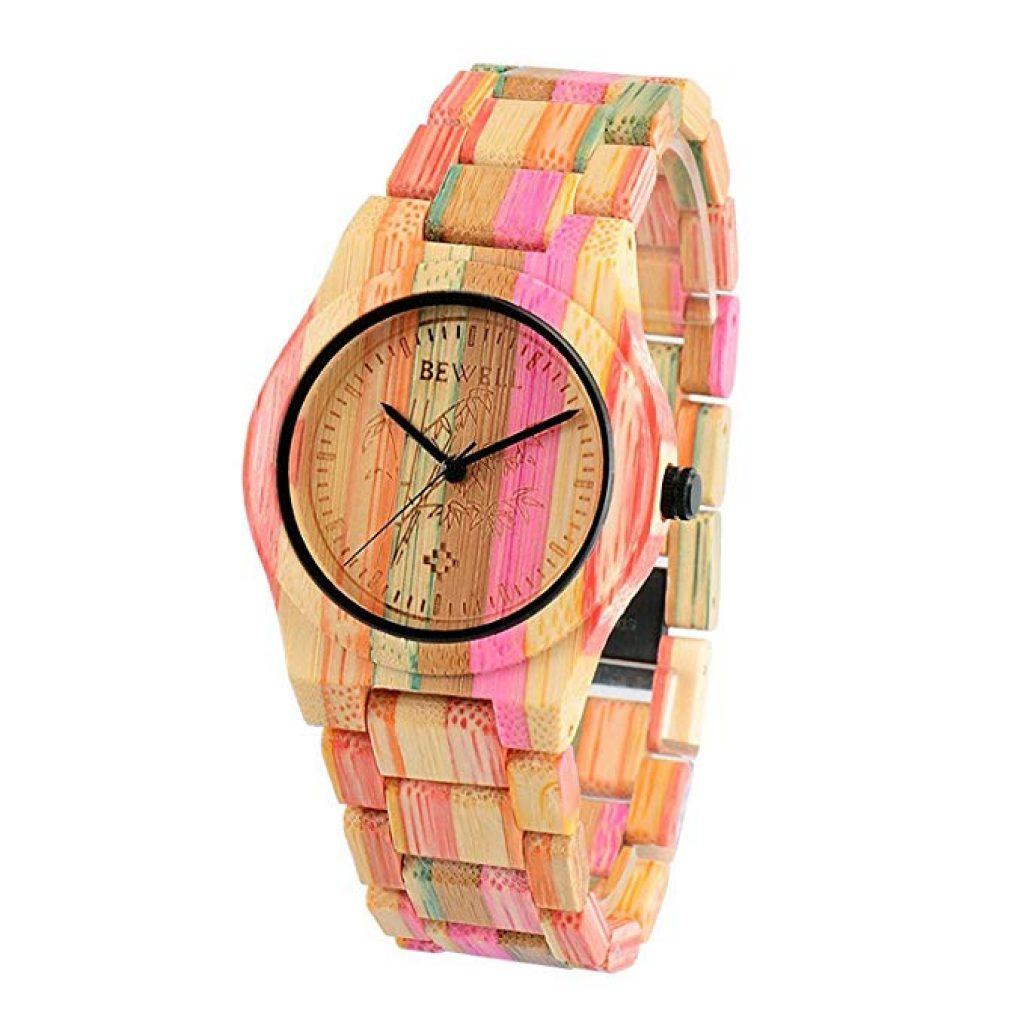 Reloj de Pulsera de Bambú