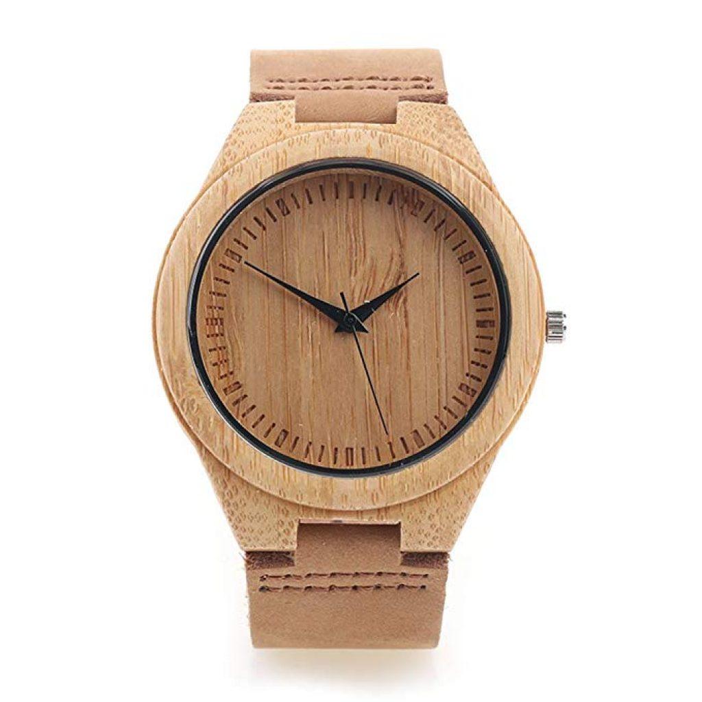 86053a875b83 ▷ Mejores «relojes de madera» de pulsera personalizados 2019