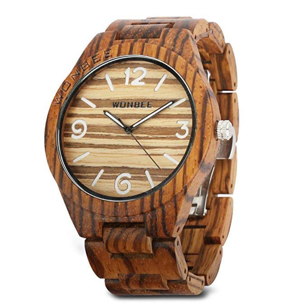 Reloj de Madera Wonbee para Hombres