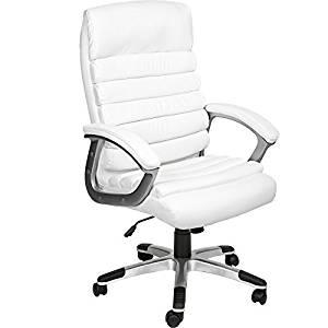 sillas ejecutivo blanca barata