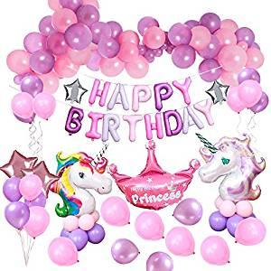 Decoraciones para fiestas de unicornios
