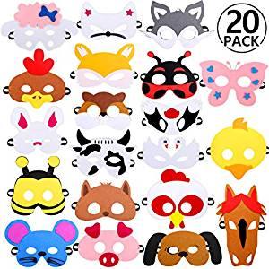 Mascaras Cosplay para fiestas con Tipis