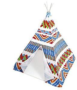 Tipi camping de colores para niños