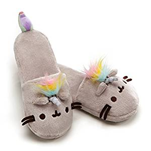 Zapatilla de Unicornio Pusheen Kawaii