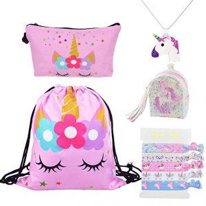 bolsa de maquillaje de unicornio