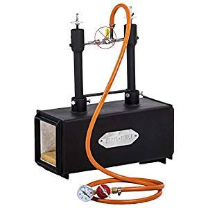 Forja de Gas propano con quemadores dual