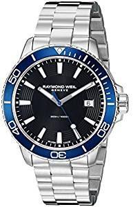 Reloj Suizo Raymond Weil tango 300 esfera azul