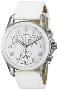 Reloj Suizo Victorinox color blanco