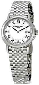 Reloj Suizo para mujer Raymond Weil color plata