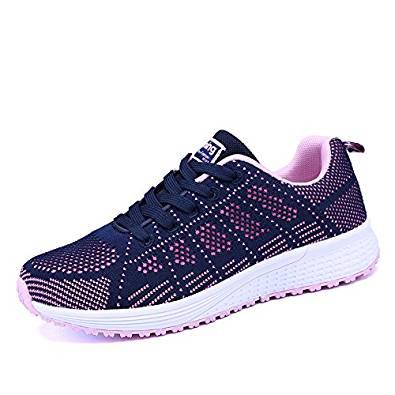 Zapatillas cómodas para andar de mujer Sneakers