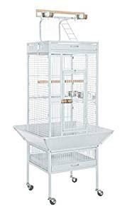 jaula grande para periquitos australianos con percha