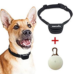 Collar anti-Ladridos para perros ajustable color negro