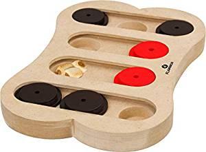 Juguetes de inteligencia para perros pequeños de madera