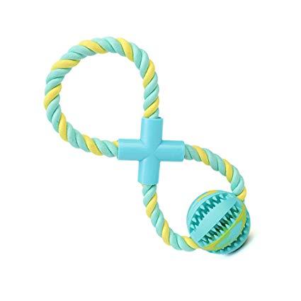 Pelota de juguete interactivo para cachorro con cuerda