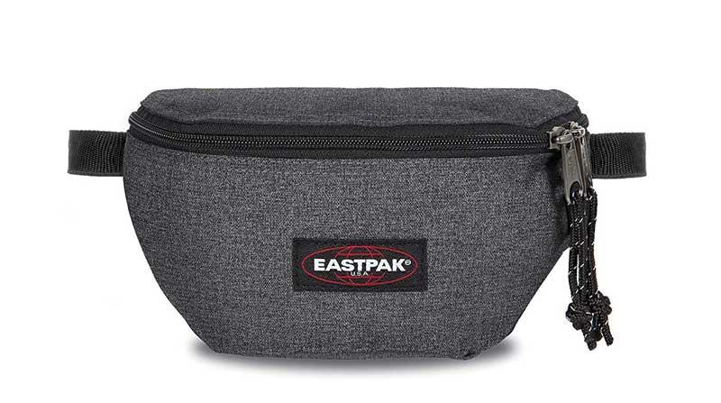 Riñonera de vestir marca EastPak color gris
