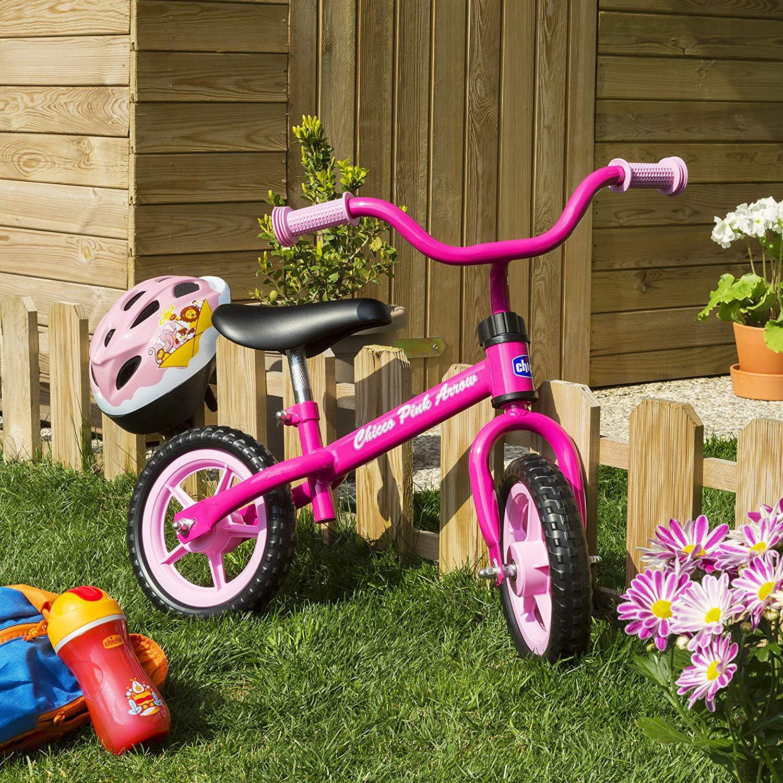 Bicicleta sin pedales para niñas marca Chicco