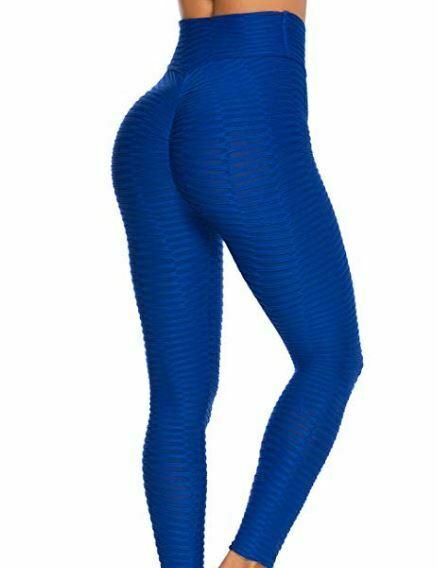 mallas deportivas de mujer transpirables FITTOO color azul