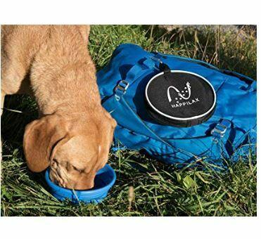 bebedero portátil plegable para perros