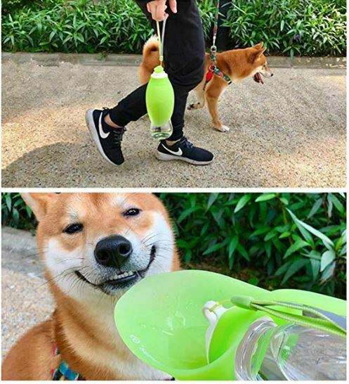 bebedero portatil para perros marca Junbo